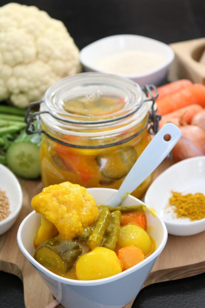 Hjemmelavet pickles