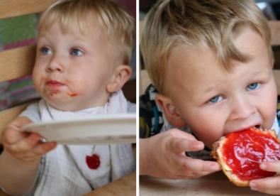 Hjemmelavet jordbærmarmelade opskrift selvforsyning DIY