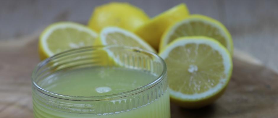 Pres citronen